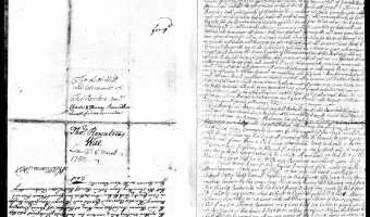Will of Thomas Rountree (Chowan County) – 1748