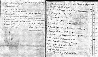 Estate of Joseph Morris (1791) – Craven County