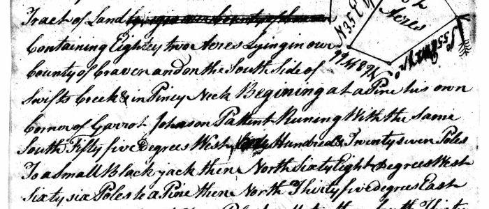 Craven County Anderson Deeds & Grants
