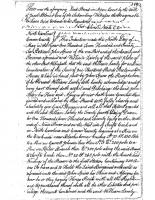 William Lawny to John Spiers (1776)
