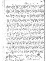 George Thomas to John Speir (1745)