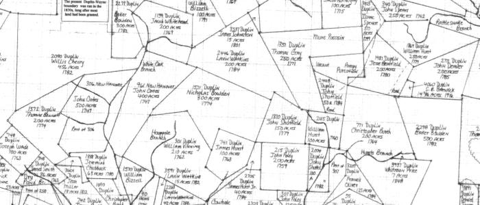 Duplin County Register of Deeds Land Grant Maps