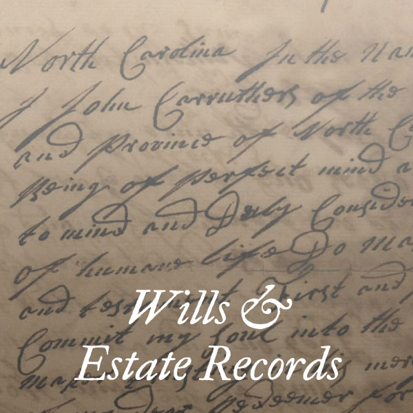 Wills & Estate Records