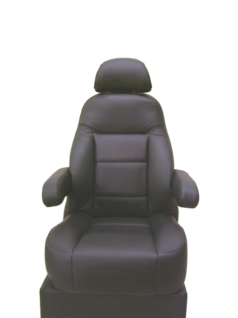 chair lumbar support leather wingback custom seating for vans and rv