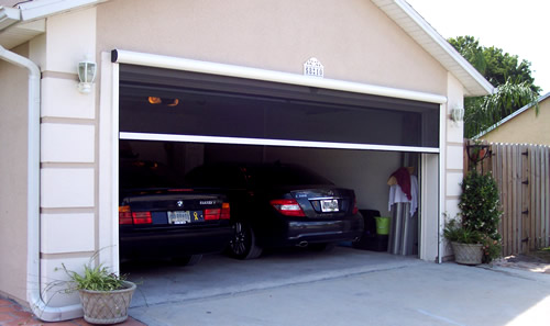 Garage Door Screening  The Screening Is Available In A Large Variety Of Types And Colors
