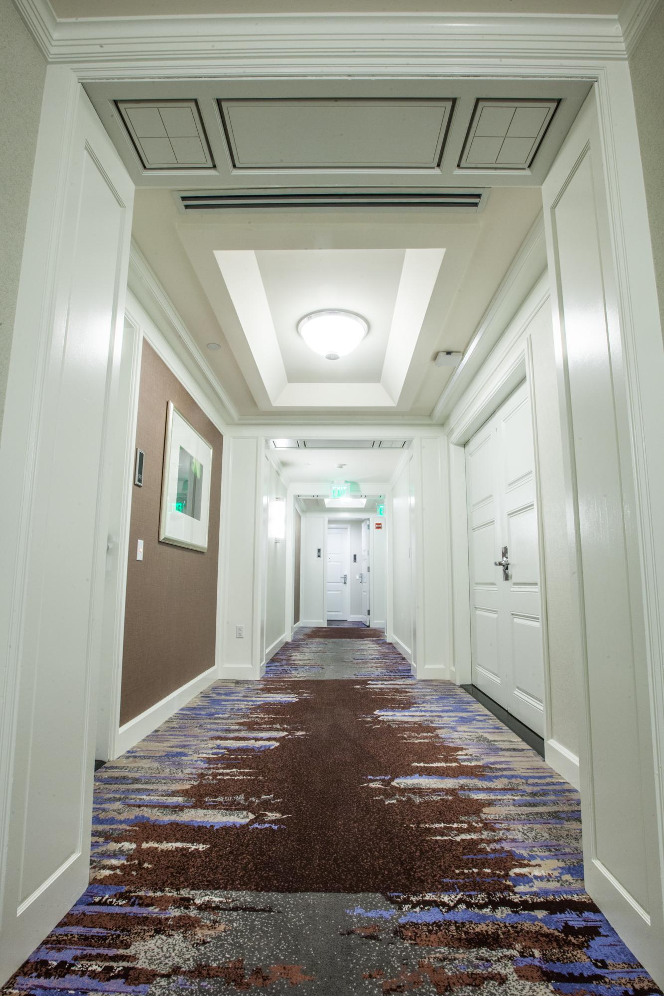 Four Seasons Brickell Commercial Carpet Install In Miami FL