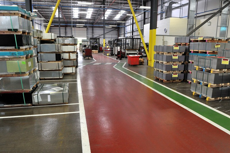 Crown Packaging  Resin Flooring Projects by ECF