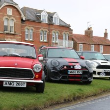East Coast Mini Club Charity Run – end point – Southwold 3