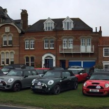 East Coast Mini Club Charity Run – end point – Southwold 9