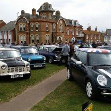 East Coast Mini Club Charity Run – end point – Southwold 11