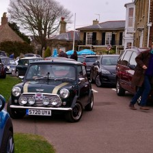 East Coast Mini Club Charity Run – end point – Southwold 12