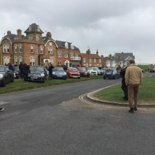 East Coast Mini Club Charity Run – end point – Southwold 23