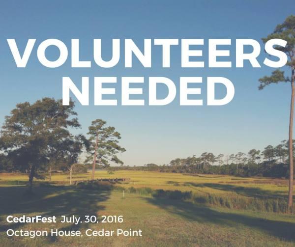 CedarFest Volunteers