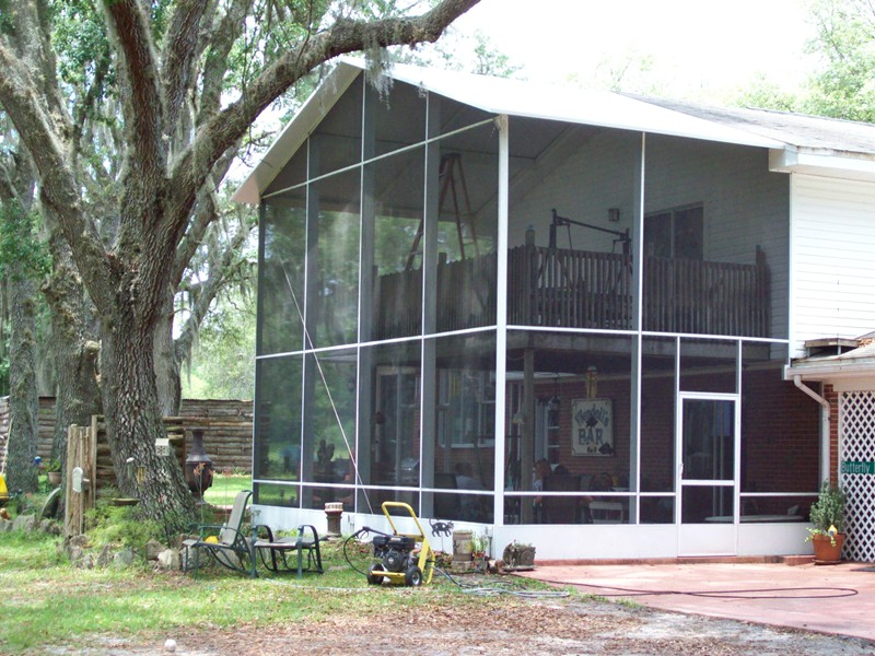 Gallery of Screened Porches Screen Doors and Garage Screens