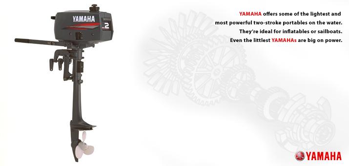 Yamaha 2 CMHS Outboard Engine