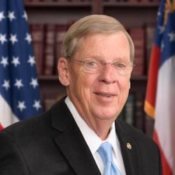 U.S. Sen. Johnny Isakson, Sen. John McCain death