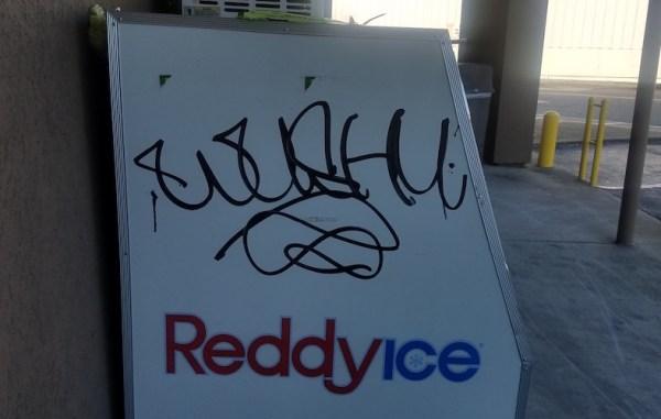 Roswell Road graffiti suspect, Marietta Police