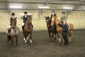 Winning Senior Show Jumping Team