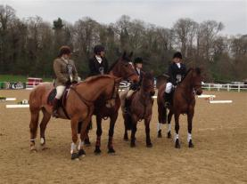 Presentation at the National Champs Senior SJ 2nd (full details in News)