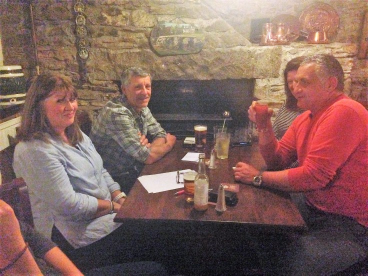 quiz night winning team