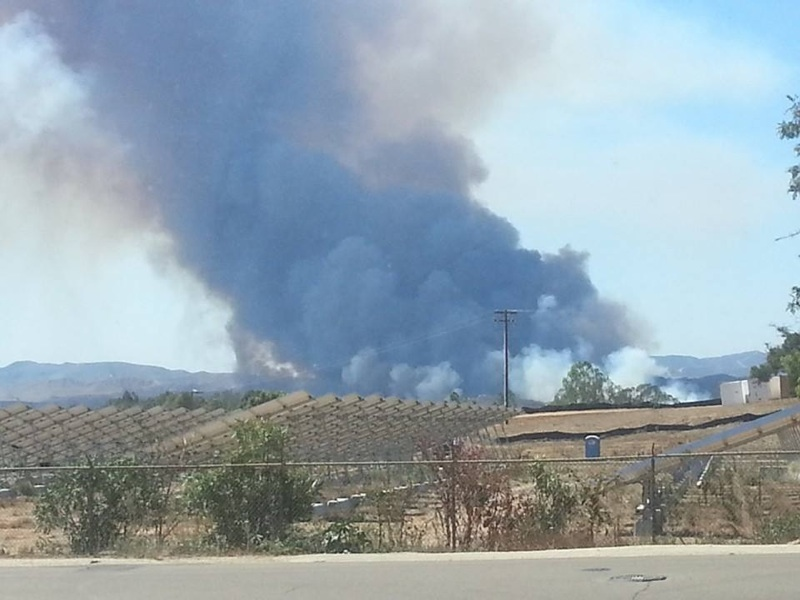 Major Brush Fire At Camp Pendleton East County Magazine