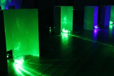 Bentley Meeker's lighting installation