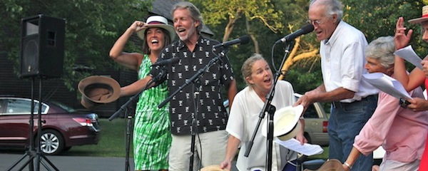 """The Moore Festival Singers sing Douglas Moore's """"Down at the North Fork Country Club Cabaret."""""""