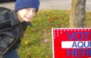 This kid wants YOU to vote