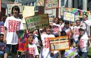 Pulaski Street School students at CAP's 2012 march