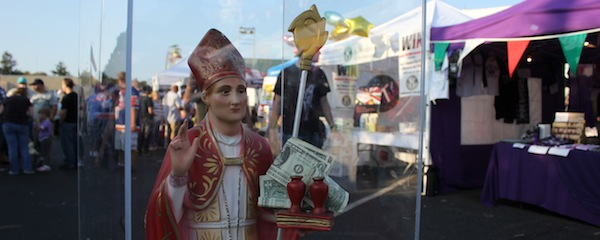 San Gennaro watches over his feast