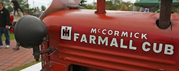 Vintage tractors are among the hundreds of neat things to see at the country fair today