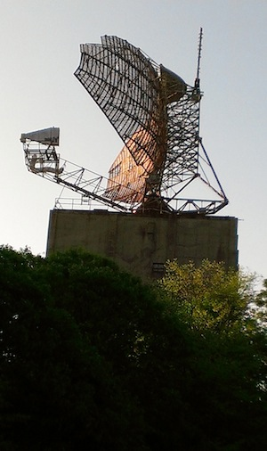 The Camp Hero Radar Antenna