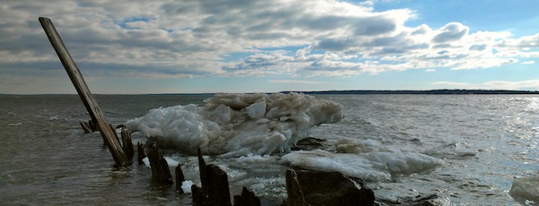 The South Jamesport Iceburg