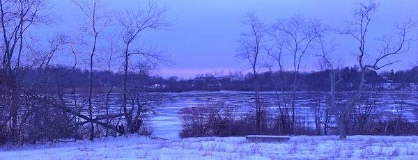 Where do the ducks go in winter? Mattituck High School, Marratooka dawn