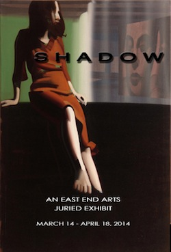 "The postcard announcement for ""Shadow"""