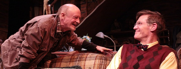 """xxx and xxx in Hampton Theatre Company's production of """"The Foreigner,"""" which opens tonight."""