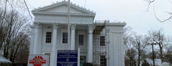 New Coat of Paint for the Old Whaling Museum, Sag Harbor