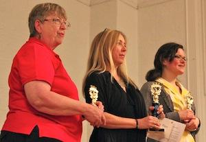 The Winners: Carol Grzywinski, Sarah Bowe and Beth Motschenbacher.