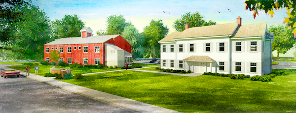 The proposed Sandy Hollow Cove apartment complex.