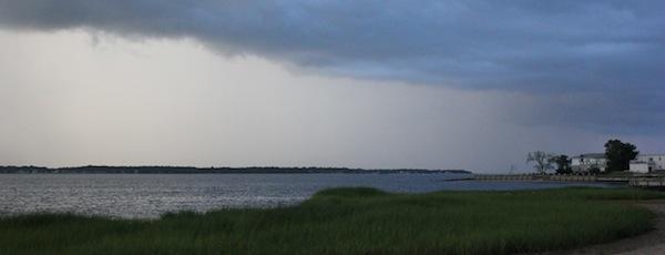 Summer Storm, Flanders Bay