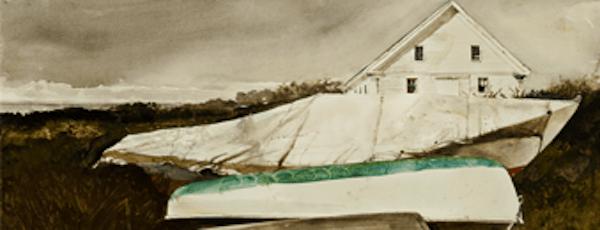 "Andrew Wyeth's ""Sail Loft,"" 1983."