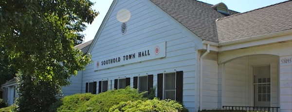 Southold Town Hall is usually a pretty quiet place.