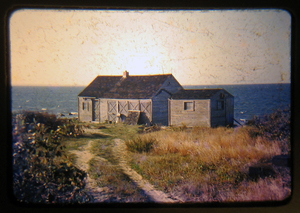 The Montauk studio and guest cottage.