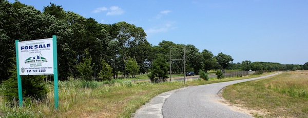 Riverhead is planning to subdivide a portion of the former Grumman property in Calverton.