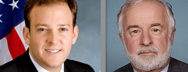 Lee Zeldin and Tim Bishop are running for Congress on the East End this fall.