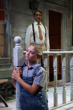 "A scene from Bay Street Theatre's ""To Kill A Mockingbird."""