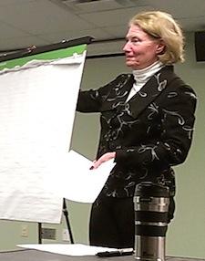 Mary Eisenstein will serve as the Civic Association's interim president.