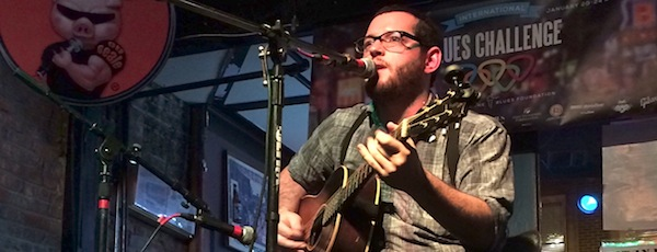 Rob Europe performed at The Pig on Beale in Memphis.     Gianna Volpe photo