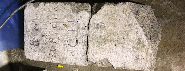 Mile Marker 8 has been in the basement of Custer Institute in Southold for nearly a quarter of a century.