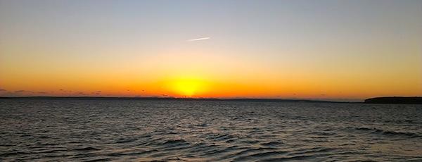 morning sunrise New Suffolk